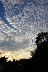 島根のうろこ雲の写真素材 [FYI00456677]