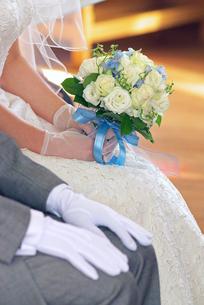 花嫁のブーケの写真素材 [FYI00456684]