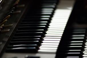 エレクトーンの鍵盤の写真素材 [FYI00456691]