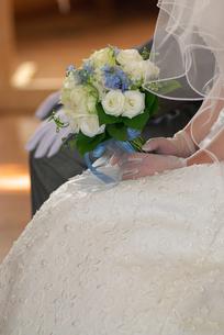 花嫁のブーケの写真素材 [FYI00456733]