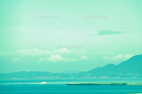 船と海の素材 [FYI00456803]