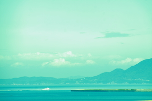 船と海の写真素材 [FYI00456803]