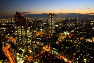 新宿夜景の素材 [FYI00456873]