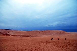 鳥取砂丘の写真素材 [FYI00456940]