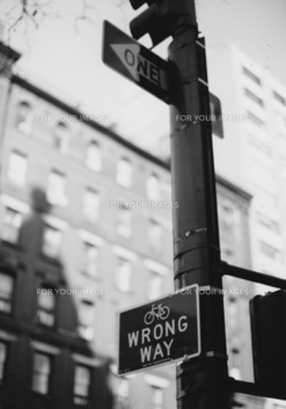 交差点の写真素材 [FYI00457193]