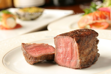 牛ヒレステーキの素材 [FYI00457218]