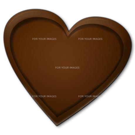 ハート型のチョコレートの素材 [FYI00457223]