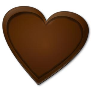 ハート型のチョコレートの写真素材 [FYI00457223]