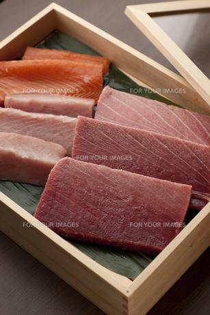 握り寿司 寿司ネタ マグロの素材 [FYI00457237]