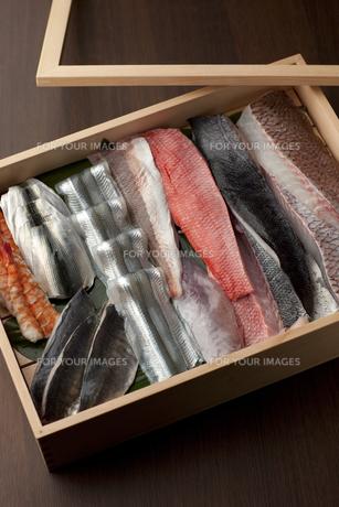 握り寿司 寿司ネタの素材 [FYI00457245]