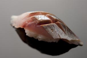 にぎり寿司 真鯵の写真素材 [FYI00457262]