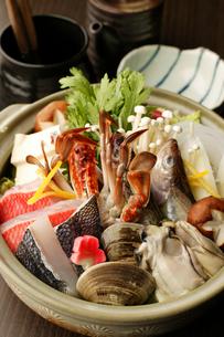 海鮮鍋の写真素材 [FYI00457274]