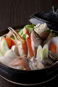 海鮮鍋の写真素材 [FYI00457293]