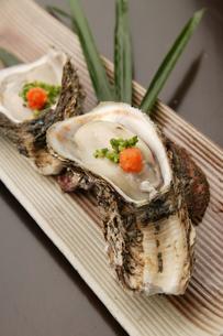 新鮮な牡蠣の素材 [FYI00457309]