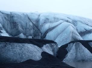 アイスランドの氷河の写真素材 [FYI00457371]
