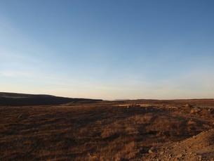 アイスランドの荒涼とした大地の写真素材 [FYI00457373]