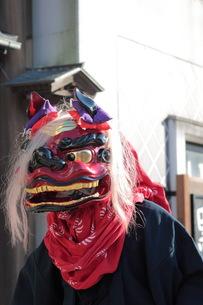 身延の獅子舞の写真素材 [FYI00457391]