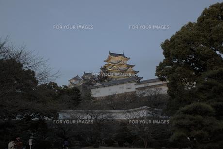 姫路城の写真素材 [FYI00457463]