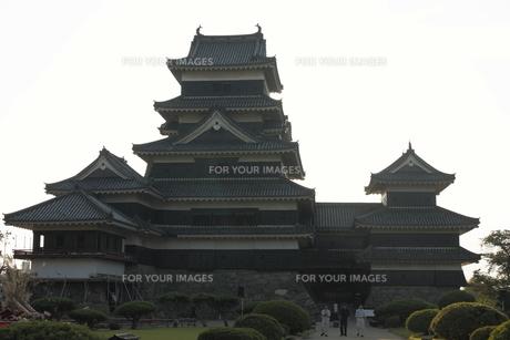 松本城の写真素材 [FYI00457467]