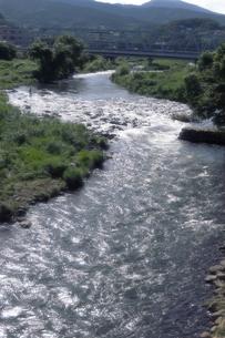 早川の流れの写真素材 [FYI00457477]