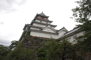 鶴ヶ城の写真素材 [FYI00457480]