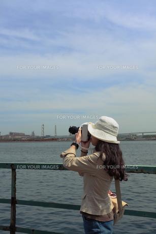 海芝浦にての写真素材 [FYI00457511]