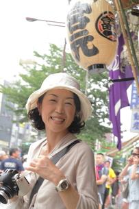 富岡八幡にての写真素材 [FYI00457537]