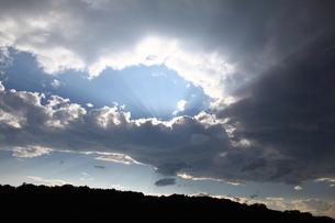 逆さ天使の梯子の写真素材 [FYI00457620]