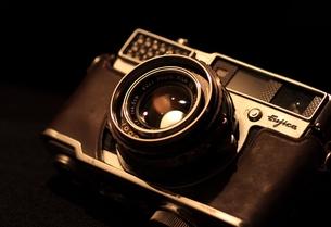 レトロなカメラの写真素材 [FYI00457624]