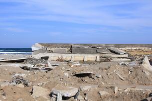 東日本大震災と津波の写真素材 [FYI00457668]