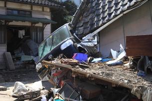 東日本大震災と津波の写真素材 [FYI00457669]