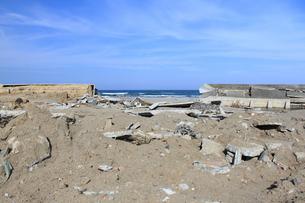 東日本大震災と津波の写真素材 [FYI00457679]
