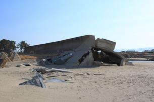 東日本大震災と津波の写真素材 [FYI00457690]