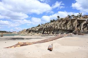 東日本大震災と津波の写真素材 [FYI00457719]