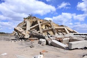 東日本大震災と津波の写真素材 [FYI00457728]