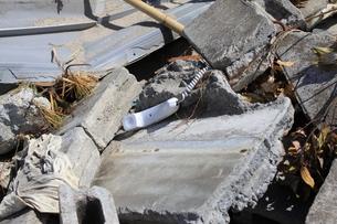 東日本大震災と津波の写真素材 [FYI00457754]