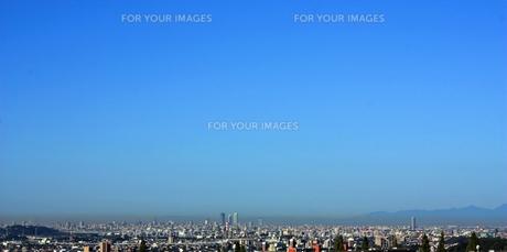 名古屋の市街地(遠望)朝の風景の素材 [FYI00458560]