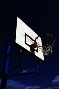 バスケットゴールの写真素材 [FYI00458643]