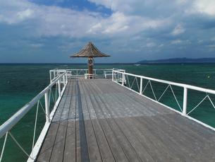沖縄石垣島ふさきビーチの風景の写真素材 [FYI00459518]