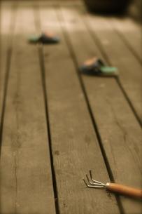 子供が遊んだ後の写真素材 [FYI00459537]