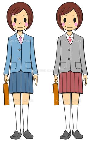 女子 学生の写真素材 [FYI00459599]