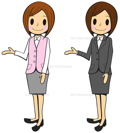 受付の女性の写真素材 [FYI00459602]