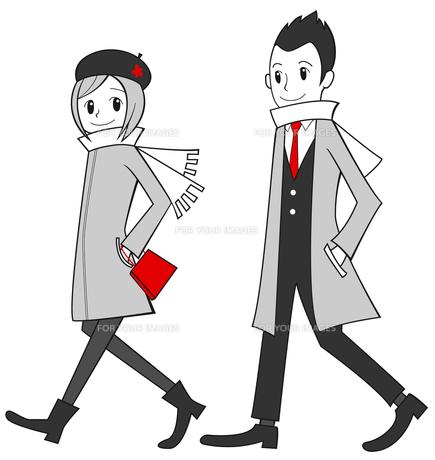 デートするカップルの写真素材 [FYI00459610]