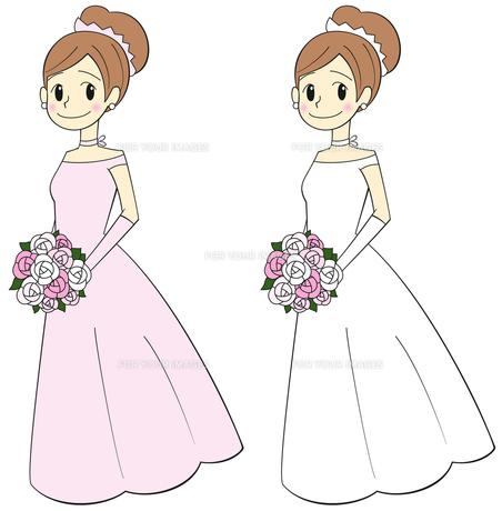 ブーケを持った花嫁の写真素材 [FYI00459641]