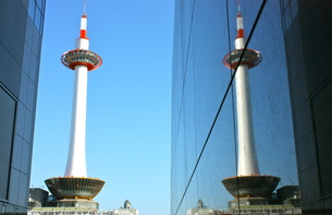 京都タワーの写真素材 [FYI00460760]
