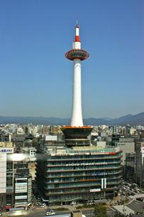 京都タワーの写真素材 [FYI00460771]