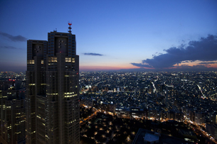 東京夜景の写真素材 [FYI00460892]