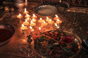 祈りの光の写真素材 [FYI00461242]