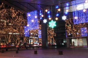 仙台・光のページェントのイルミネーションの写真素材 [FYI00461724]