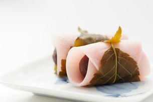 和菓子_桜餅の写真素材 [FYI00461808]